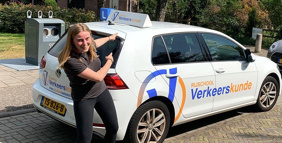 Rijbewijs gehaald in Haarlem
